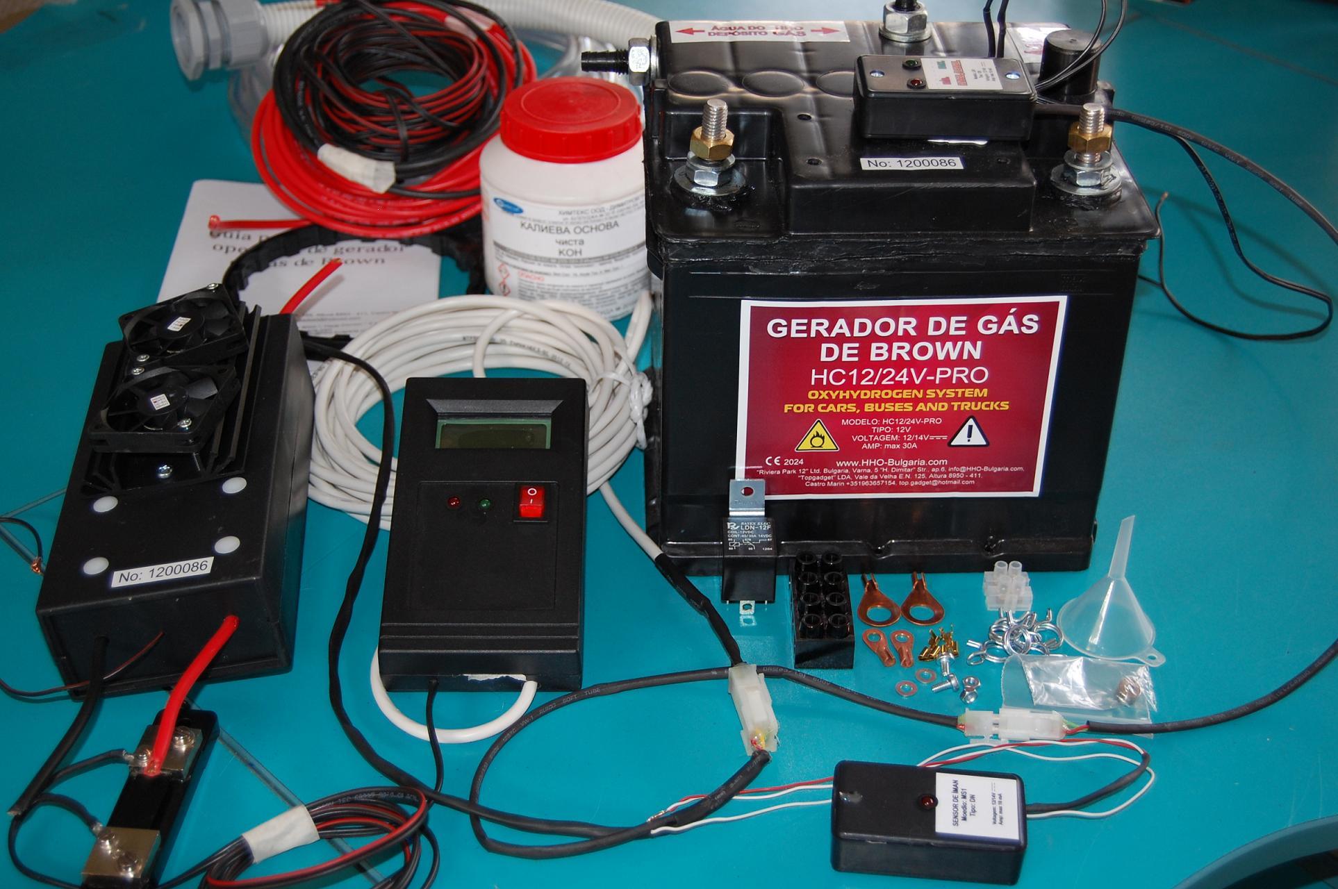 Водороден генератор HHO генератор