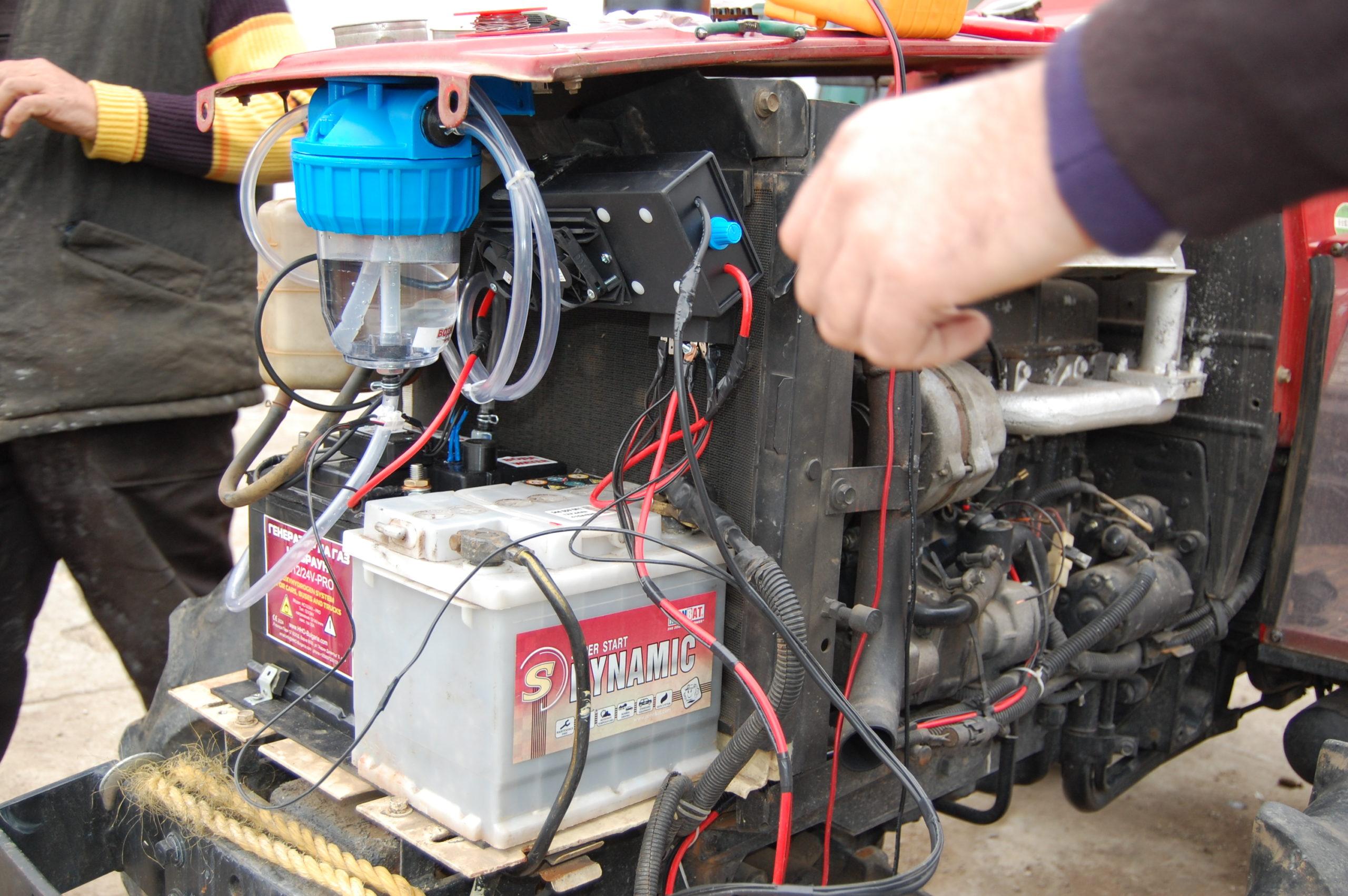 HHO генератор на трактор