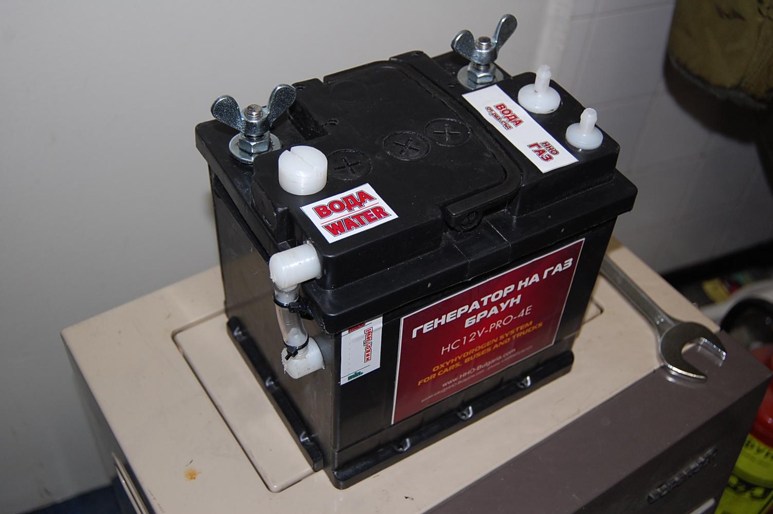 Водородна клетка на Генератор на газ на Браун, проектиран и произведен от HHO Bulgaria в България