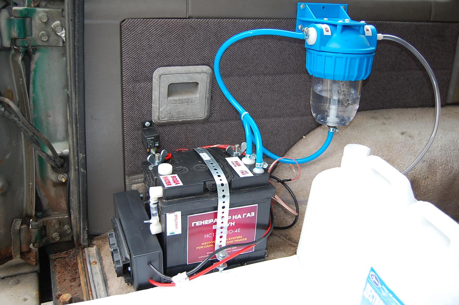 Генератор на газ на Браун HC12V-PRO-4E