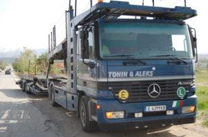 камион мерцедес с монтиран HHO генератор