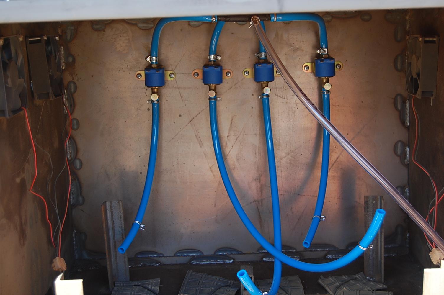 клапани система за доливане