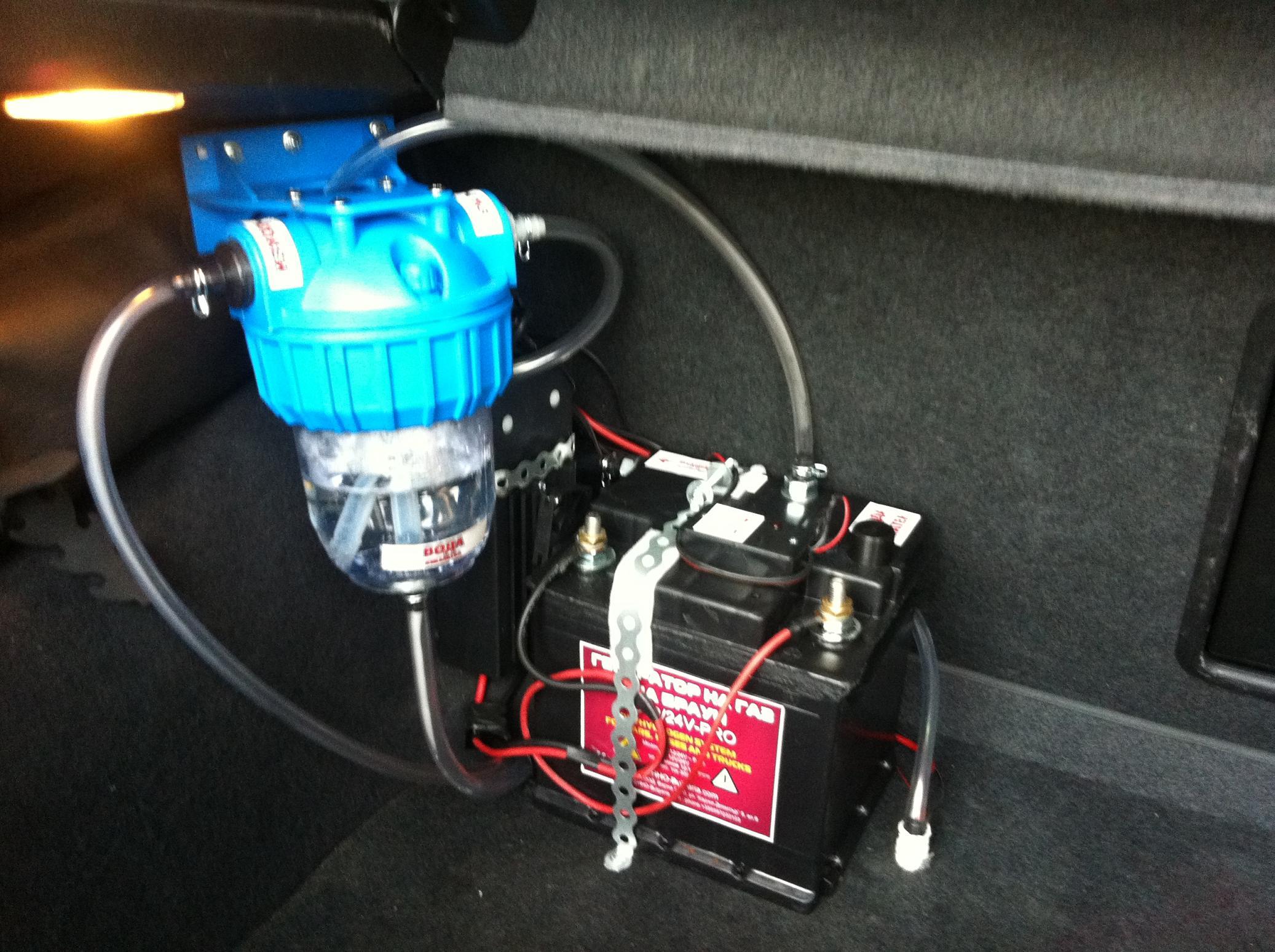 HHO generator Opel Astra