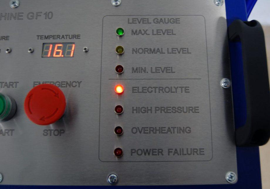 Апарат за газопламъчна работа с водород